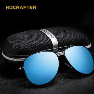 Outdoor Fishing UV400 Polarized  Vintage Pilot Sun Glasses