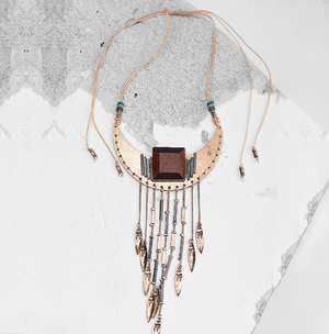 Women's Vintage Long Tassel Necklace