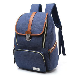 Large Capacity Vintage Outdoor Travel 16 Inch Laptop Bag Backpack