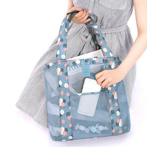 Nylon Lightweight Handbag Storage Bag Sport Picnic Shoulder Bag