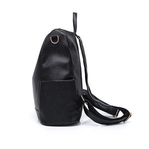 Women Large Capacity Backpack Color Block Casual Trendy Bag