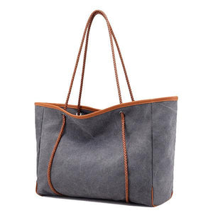 Casual Outdoor Canvas Large Capacity Handbag Shoulder Bag