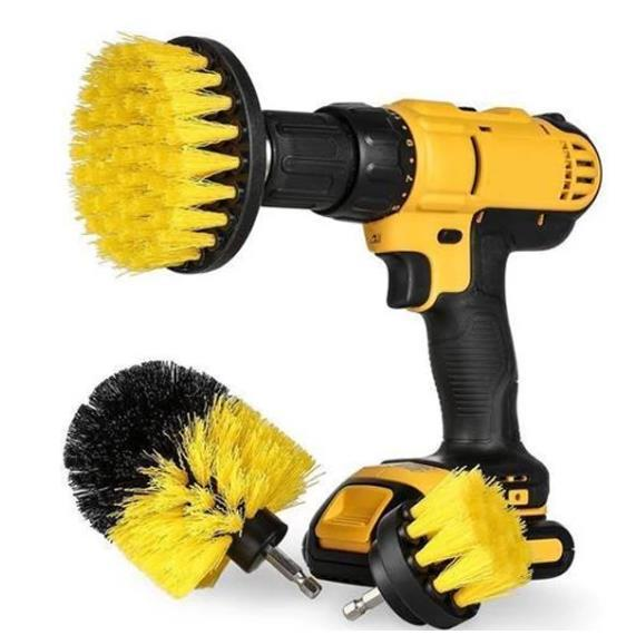 Power Scrubber Brush Set