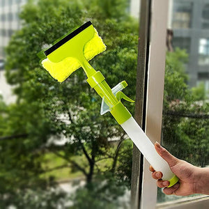 Spray Type Cleaner Window Scraping Clean Brush Cleaning Tool