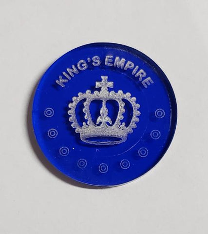 Malifaux compatible king's empire tokens(Qty 5)