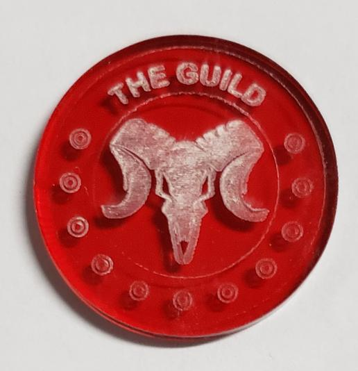 Malifaux compatible the guild tokens (Qty 5)