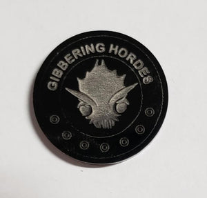 Malifaux compatible gibbering hordes tokens (Qty 5)