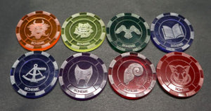 Malifaux compatible scheme tokens (Qty 5)