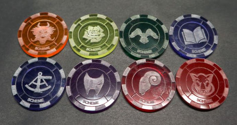 Malifaux compatible scheme tokens