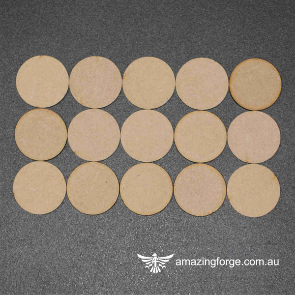 40mm Round Bases (qty 15)