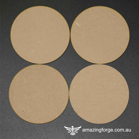 100mm Round Bases (qty 4)
