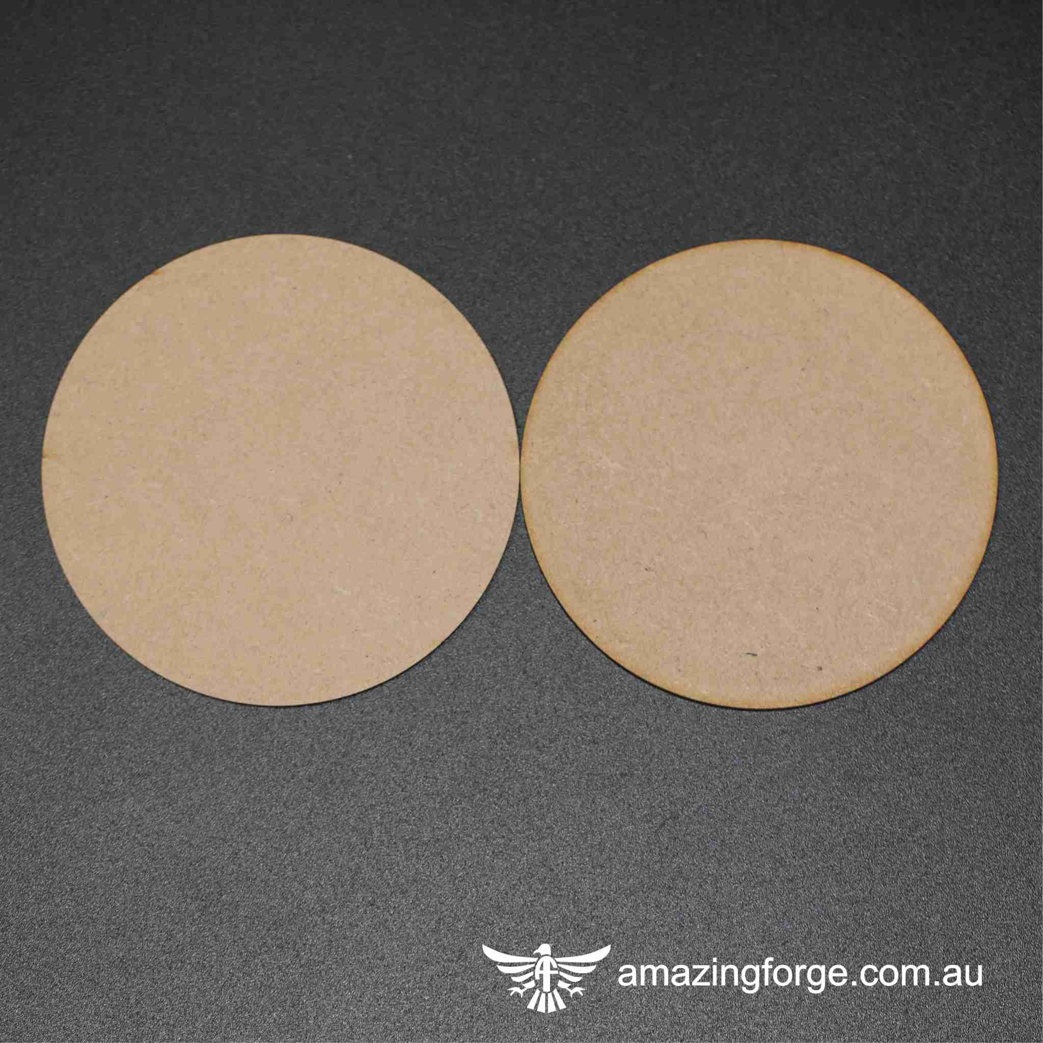 160mm Round Bases (qty 2)