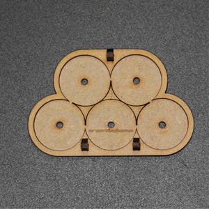 25mm Round Base Movement Tray (btb 2 by 3) mk2