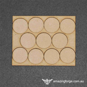 25mm Round Base Movement Tray (11 bases)