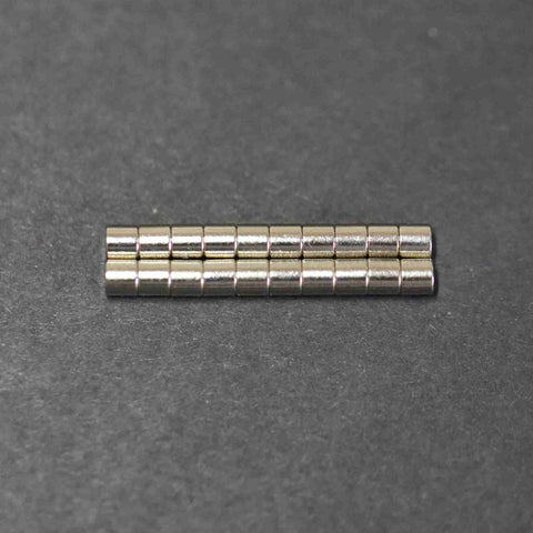 Rare Earth Magnets 3mm x 3mm (qty 20)