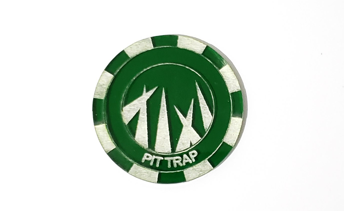Malifaux compatible pit trap tokens (Qty 5)