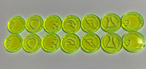 Malifaux compatible tokens set A (Qty 14)