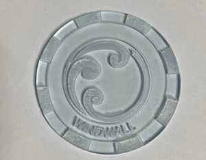Malifaux compatible windwall tokens (Qty 5)