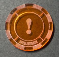 Malifaux compatible strategy tokens (Qty 5)