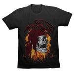 SKI MEETS WORLD SUMMONING TEE - BLACK