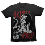 SKI MEETS WORLD NOIR TEE - BLACK