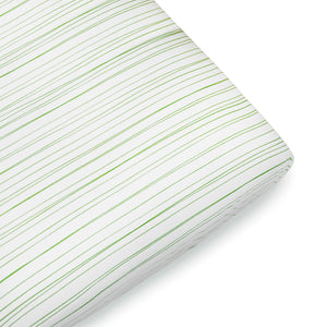 Filati Crib Sheet - Greenery