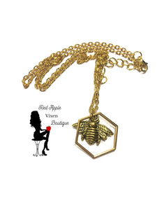 Bee Necklace - Sassy Chick Clothing