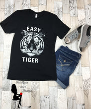 Load image into Gallery viewer, Easy Tiger Graphic Tee - Sassy Chick Clothing