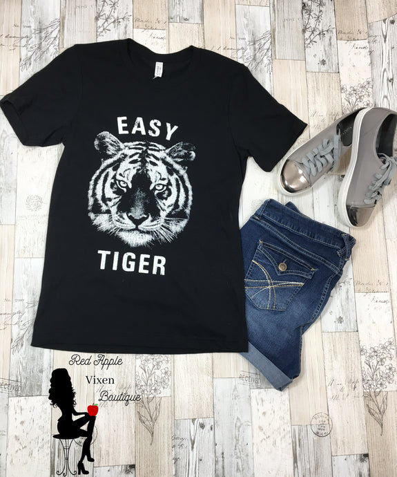Easy Tiger Graphic Tee - Red Apple Vixen Boutique
