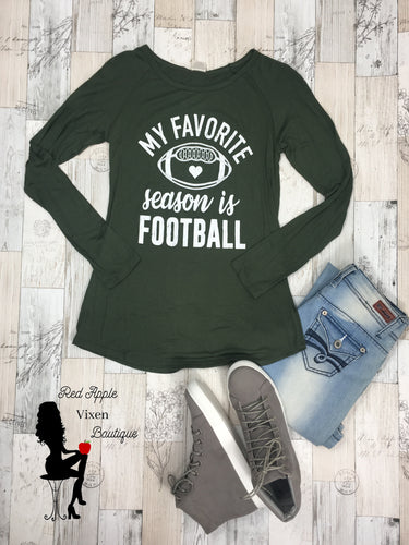 My Favorite Season is Football - Sassy Chick Clothing
