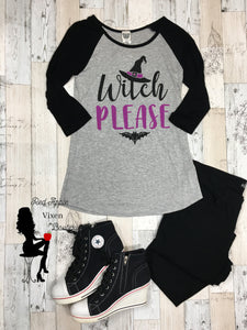 Witch Please Graphic Tee - Sassy Chick Clothing