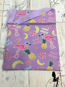 Summertime Print Messenger Bags - Sassy Chick Clothing