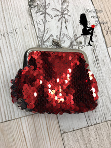 Sequin Coin Purse - Sassy Chick Clothing