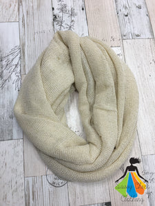 Glitter Accent Infinity Scarves - Sassy Chick Clothing