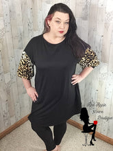 Load image into Gallery viewer, Animal Print Swing Dress - Sassy Chick Clothing