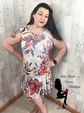 Load image into Gallery viewer, Sleeveless Floral Print Dress - Sassy Chick Clothing