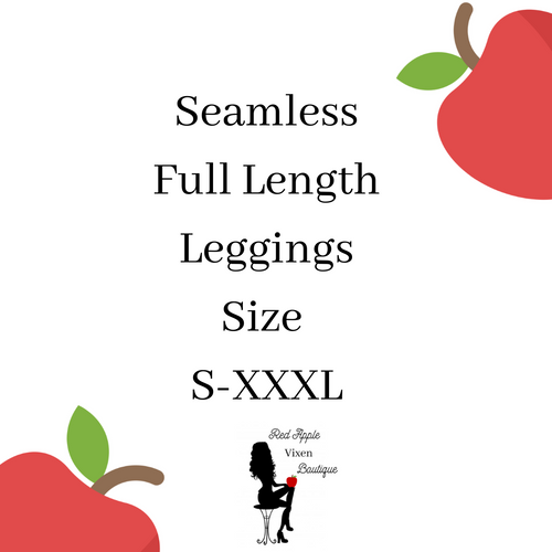 Seamless Full Length Leggings - Sassy Chick Clothing