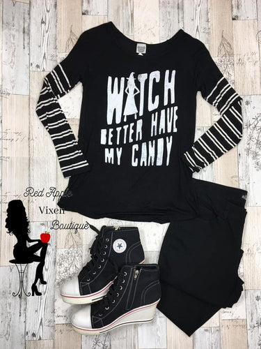 Witch Better have my Candy Adult Graphic Tee - Sassy Chick Clothing