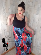 Load image into Gallery viewer, Tropical Maxi Tank Dress - Red Apple Vixen Boutique