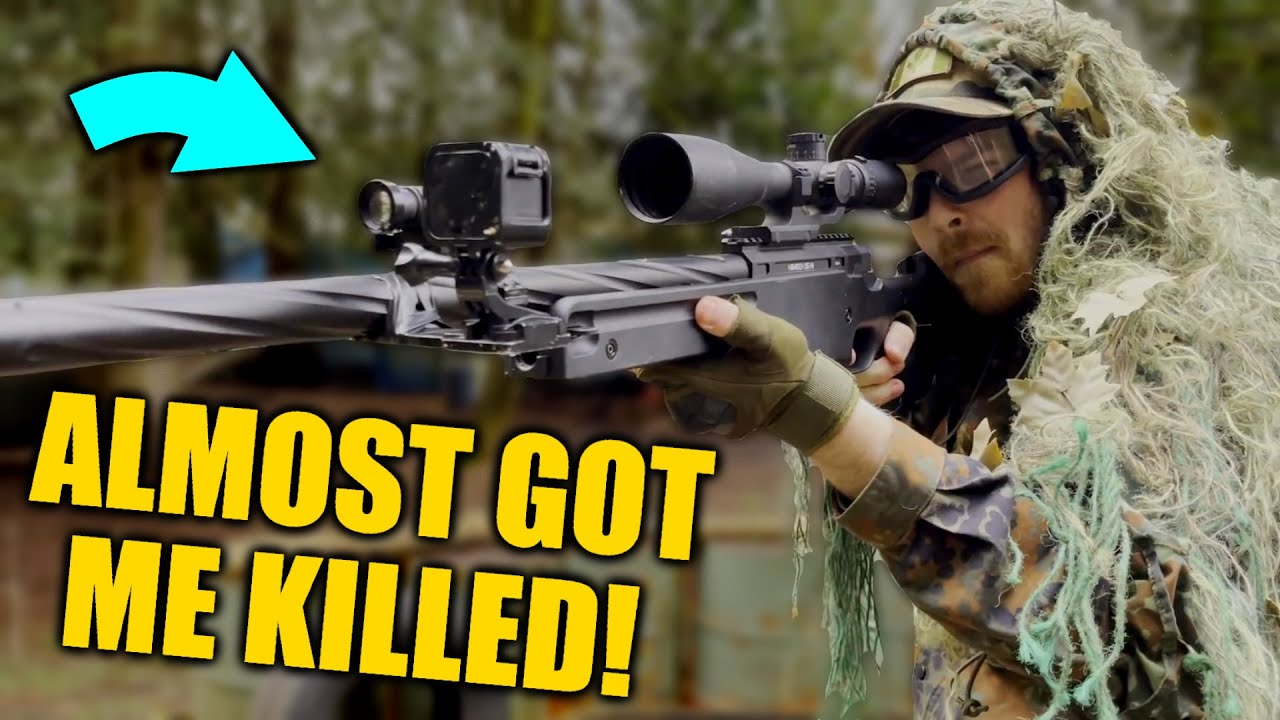 This Sniper Almost Got Me DESTROYED!