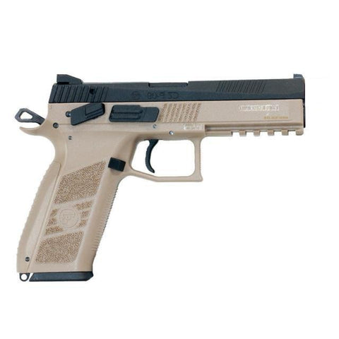 KJW CZ P-09 - Co2 blowback - TAN