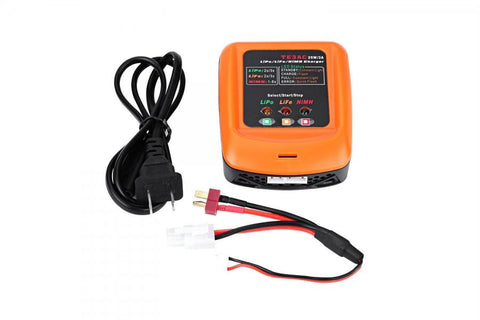 TE3AC 3 IN 1 SMART CHARGER (LIPO, LIFE, NIMH)