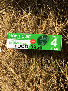 Maistic Compostable Food/Freezer Bags