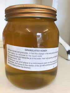 Pure Shropshire Honey (unblended) 454g 1lb