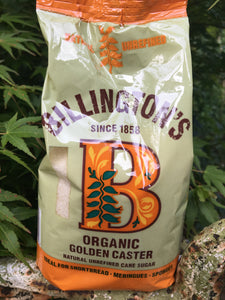 Billington's Organic Golden Caster Sugar 500g