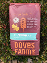 Load image into Gallery viewer, Doves Farm Organic Buckwheat Wholegrain Flour 1kg