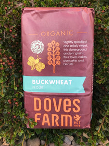 Doves Farm Organic Buckwheat Wholegrain Flour 1kg