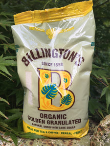 Billington's Organic Golden Granulated Sugar 500g