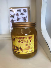 Load image into Gallery viewer, Pure Shropshire Honey (unblended) 454g 1lb