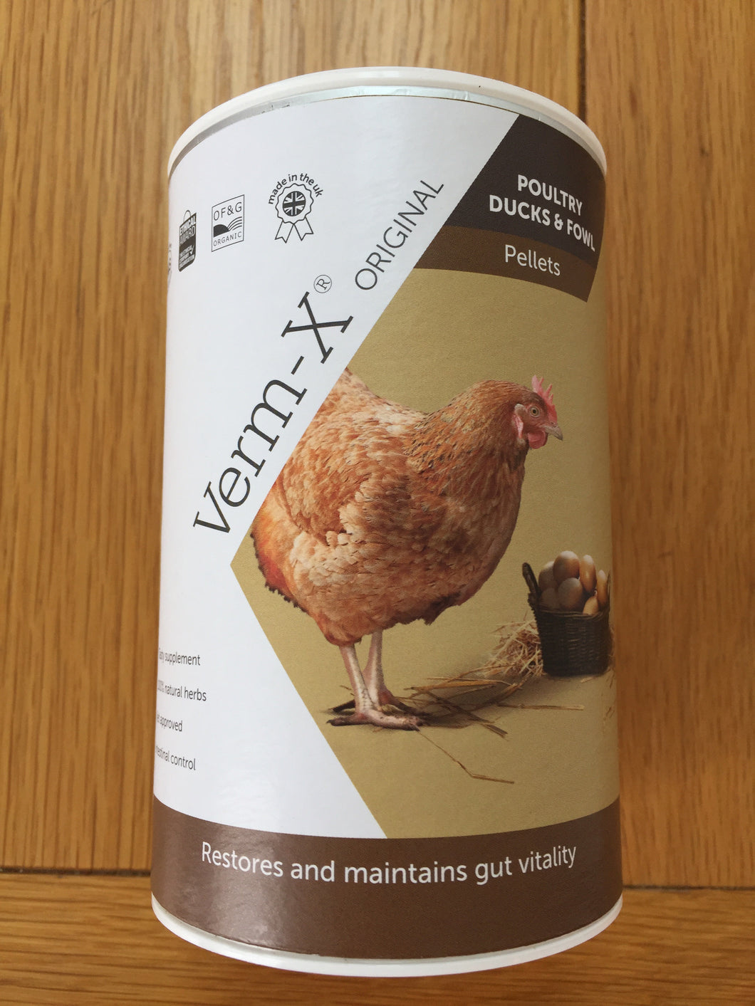 Verm-X Original Pellets for Poultry 250g